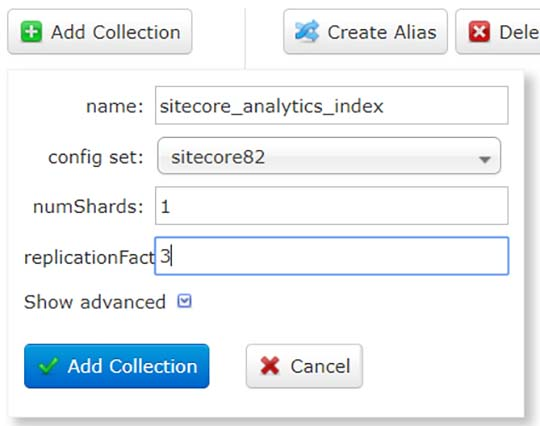 Create Collection - Alpha Solutions