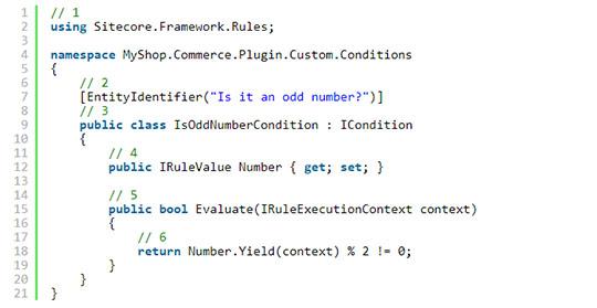 Custom Condition - Alpha Solutions