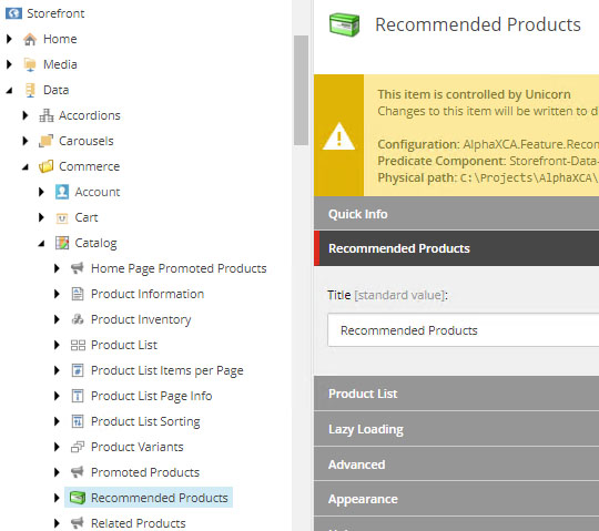 SXC-SXA-Recommendations-Component-Experience-Data-Items-Recommended-Products