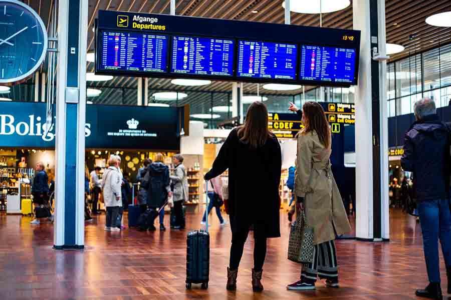 CPH Airport Departures - Alpha Solutions