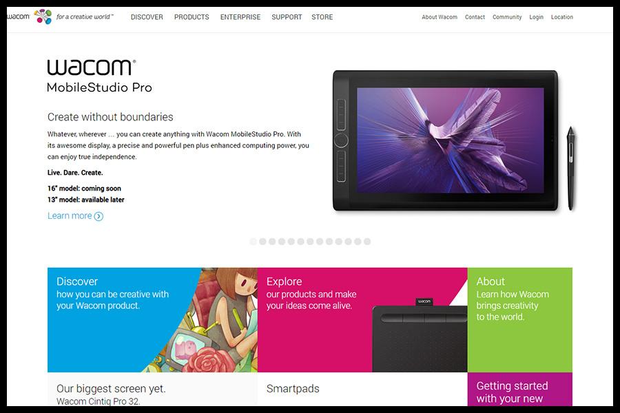 Wacom screenshop - Alpha Solutions