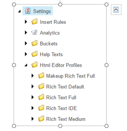 Editor Functionality - Alpha Solutions