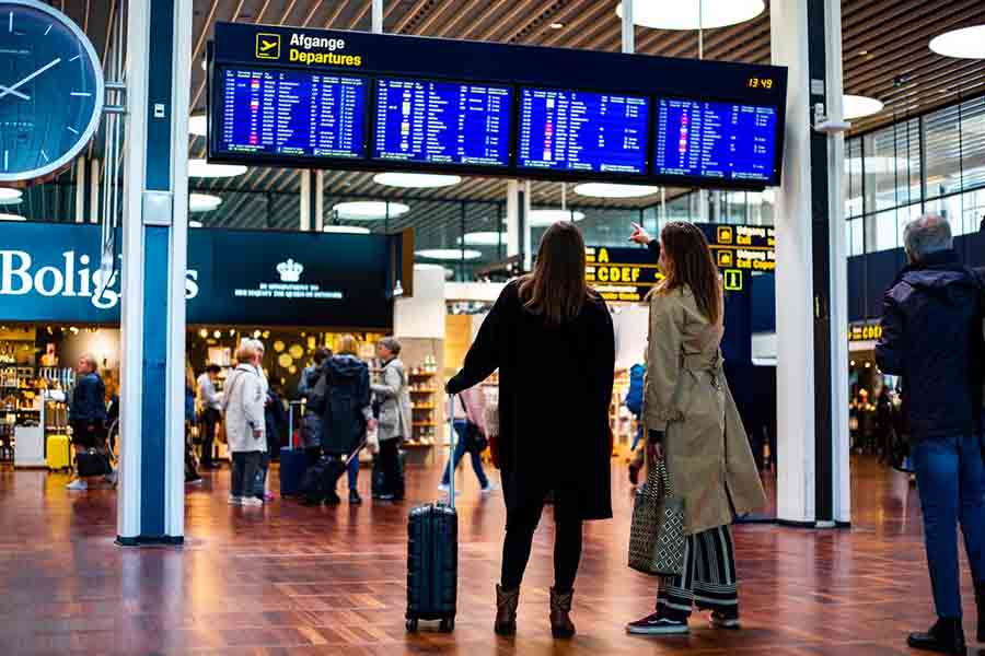 CPH Airport Departures - Alpha Solutions