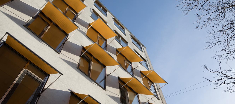 Bygningsfacade af kontor - Gothersgade 14 - Alpha Solutions