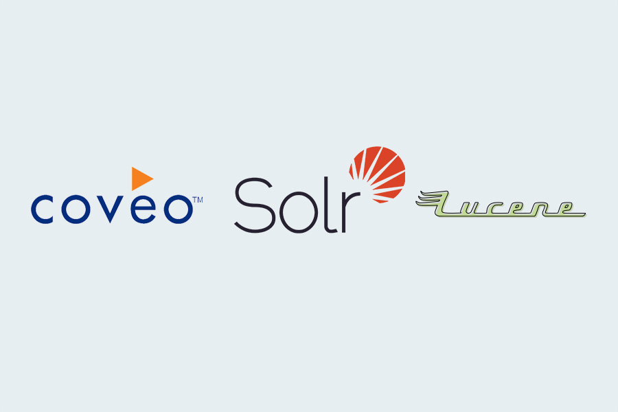 Coveo, Solr,  Lucene - Alpha Solutions