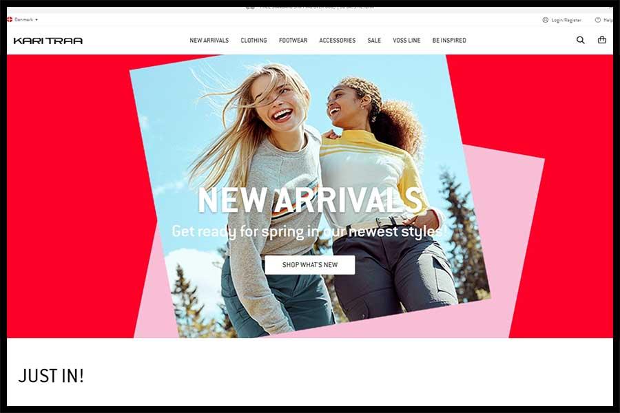 Kari Traa Screenshop - Alpha Solutions