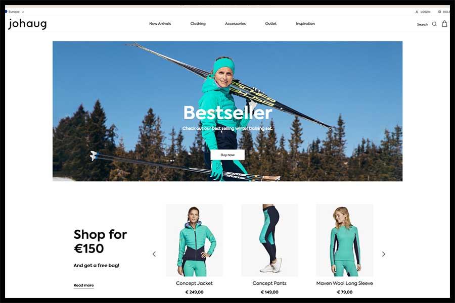 Johaug Screenshop - Alpha Solutions