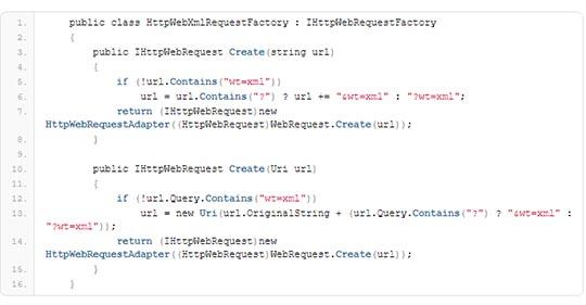 HTTPWebRequestFactory - Alpha Solutions