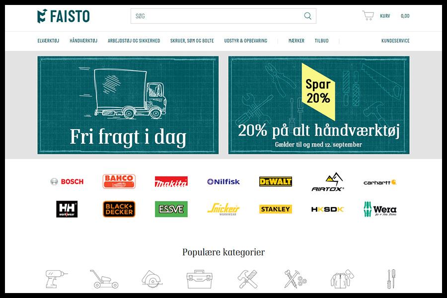 Faisto Website Screenshot