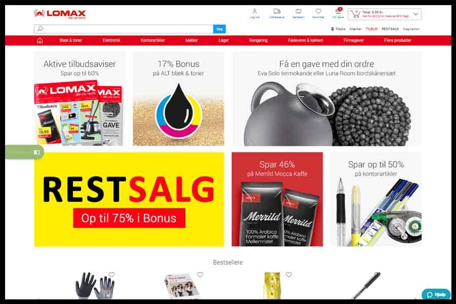 Lomax Screenshop - Alpha Solutions