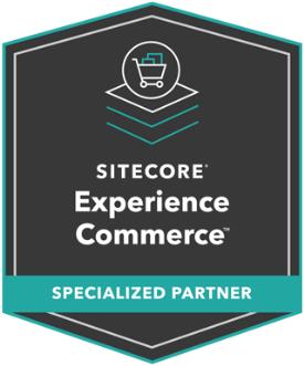 Sitecore Experience Commerce - Specialized Partner Badge