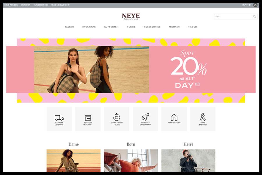NEYE Screenshop - Alpha Solutions